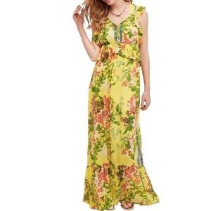 Anthropologie Tracy Reese Sungrove Maxi Dress